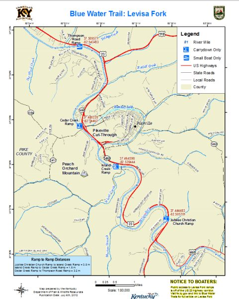 Levisa Fork Map