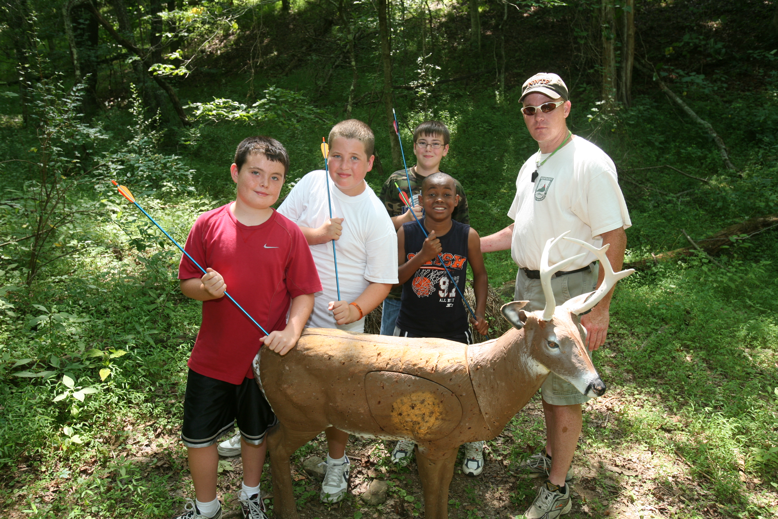 Kentucky department of fish wildlife camp robert webb for Ky fishing license cost