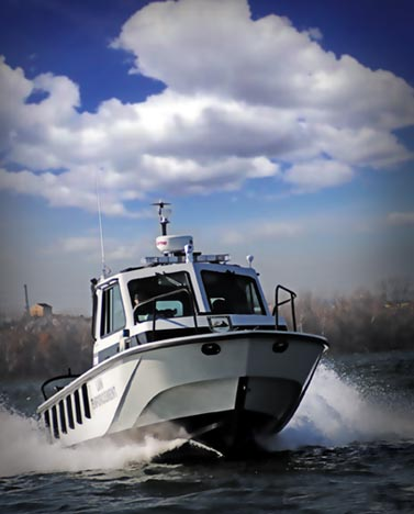 Law Enforcement Boat