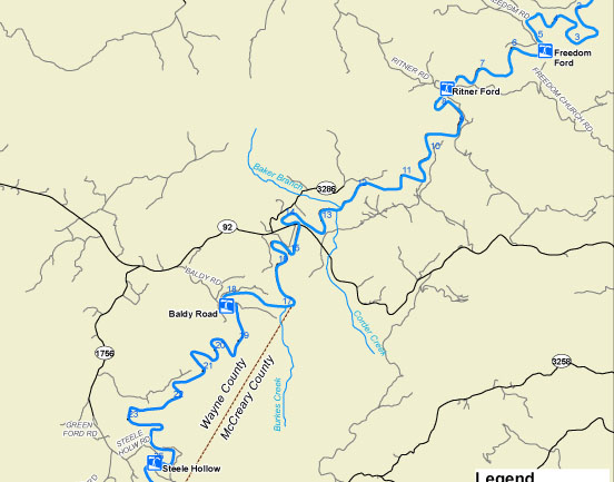 kentucky department of fish wildlife little south fork of