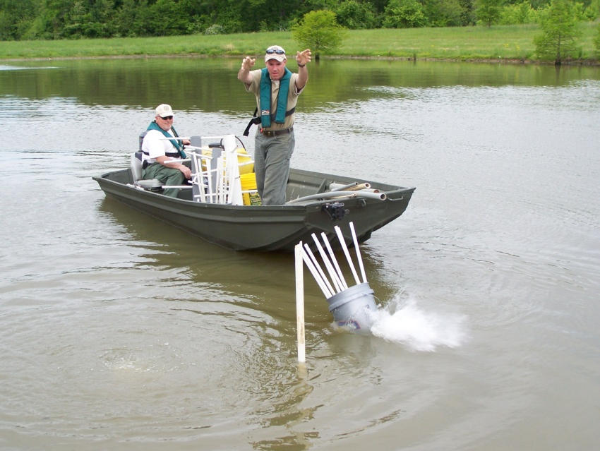 Kentucky department of fish wildlife managing fish for Artificial water pond