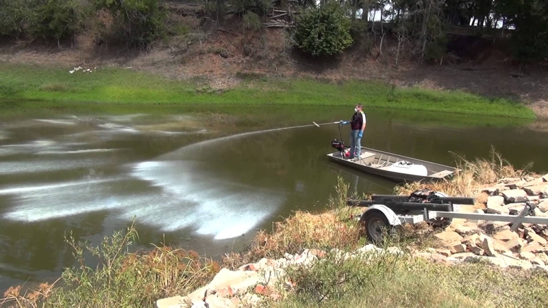 Kentucky department of fish wildlife managing fish for Fish pond management