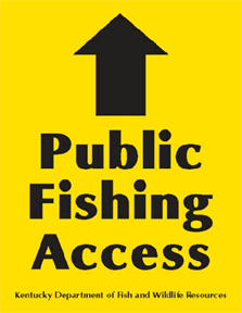 Public fishing access