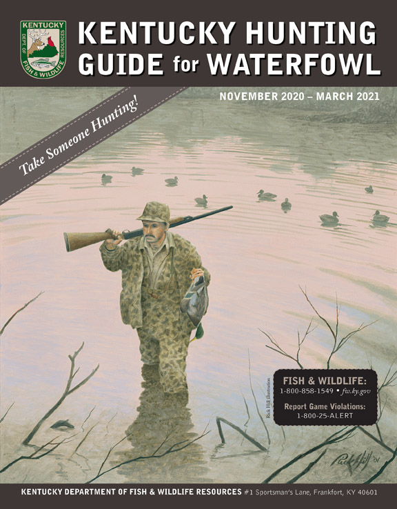 Waterfowl Hunting Guide (regulations booklet) for 2020-21