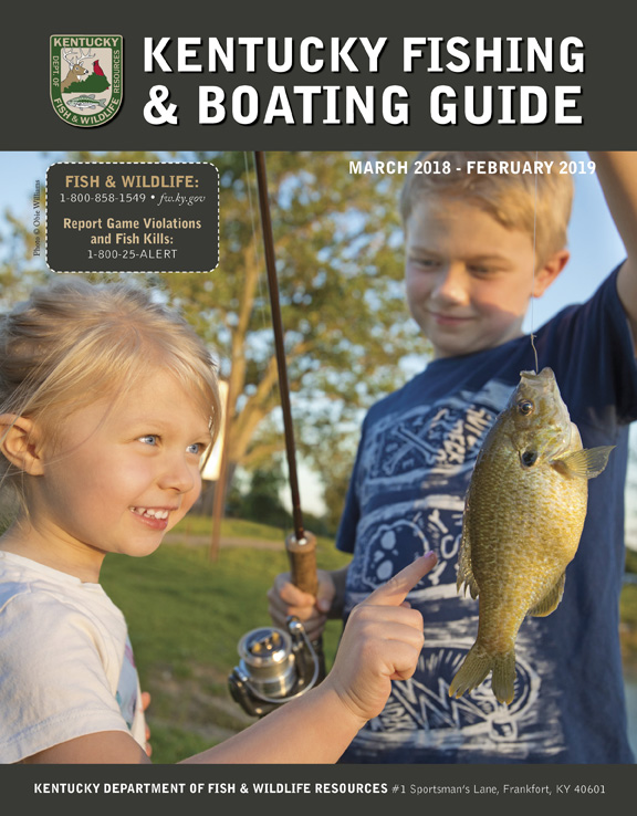 kentucky department of fish & wildlife fishing and boating guide