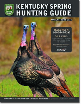 Kentucky department of fish wildlife spring turkey hunting for Ky fish and wildlife telecheck