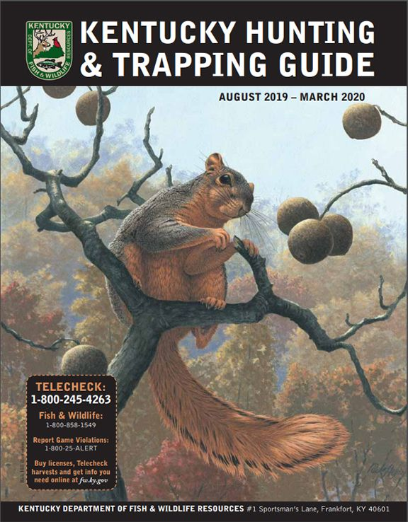 2019-20 Kentucky Hunting and Trapping Guide