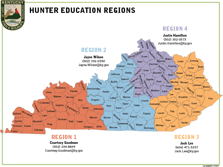 Kentucky Department of Fish & Wildlife Hunter Education