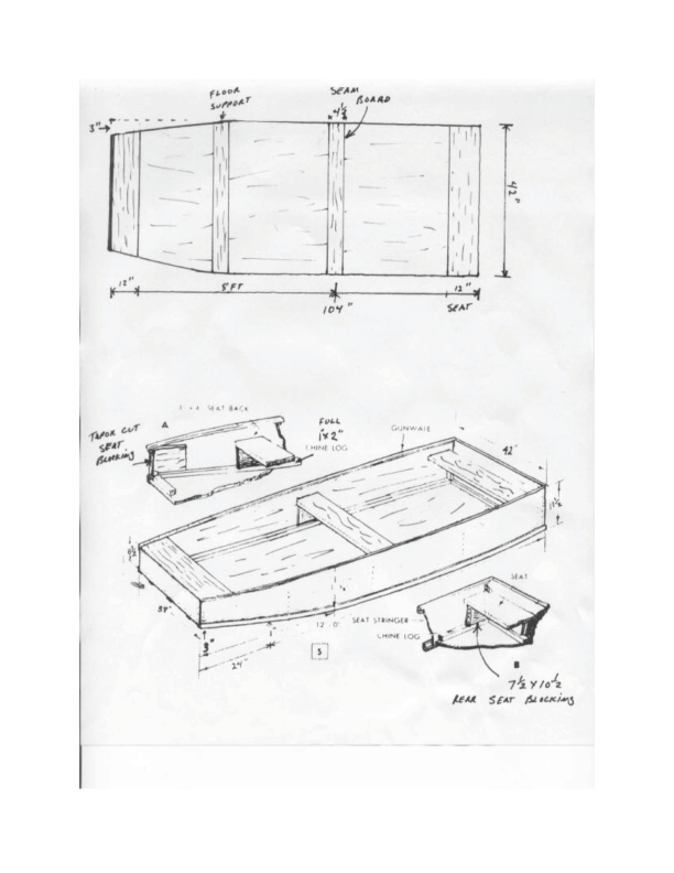 Flat Bottom Boat Building Plans Learn How Seen Boat Plan