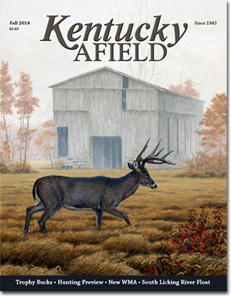 Kentucky Afield Magazine Fall 2014 Cover