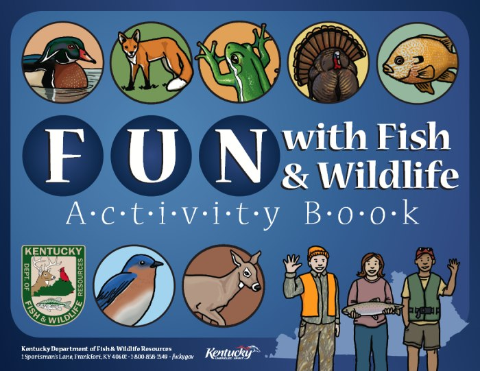 Fun with Fish and Wildlife Activity Book