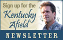 Link to sign up for the Kentucky Afield Newsletter