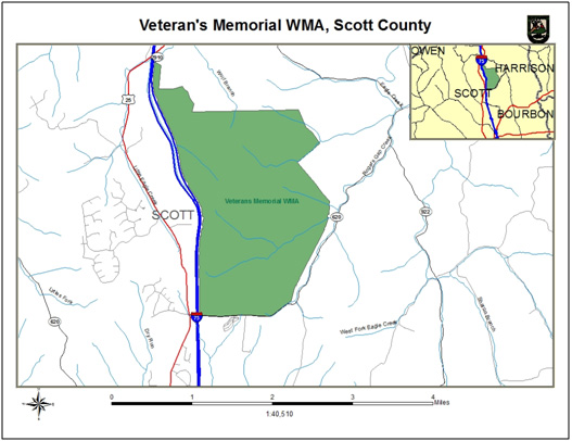 Veteran's Memorial WMA, Scott County